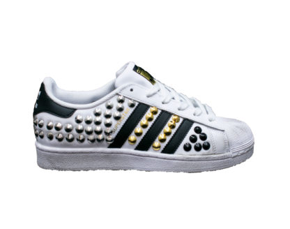 I19 Pierrot Superstar Total Borchiegold Black.jpg