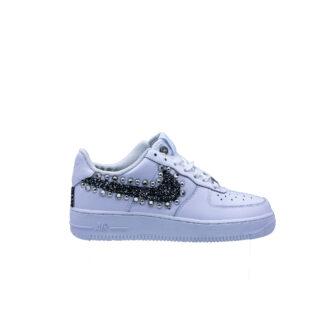 I20 Nike Nike Air Force07 Silver Black Borchiewhite.jpg